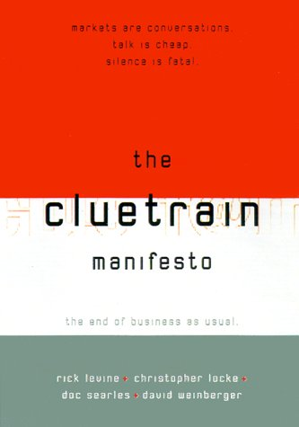 The Cluetrain Manifesto - Wrap Suppliers Bubble