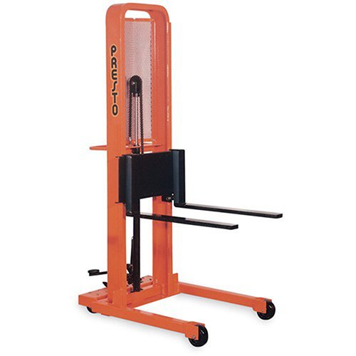 Material Handling Stacker (Presto Foot-Operated Stackers - Adjustable 3