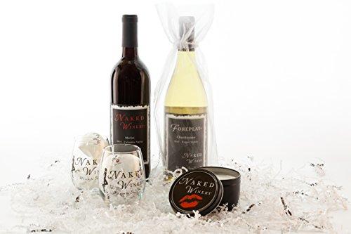 Beautiful Beginnings Chardonnay & Merlot Wine Gift Set, 2 x 750 mL