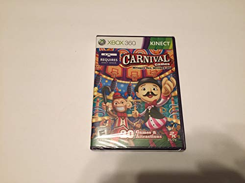 Price comparison product image CARNIVAL GAMES MONKEY SEE AND MONKEY DO XBOX 360 KINECT GAME