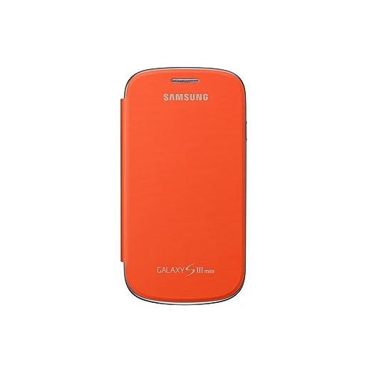 335 opinioni per Samsung EFC-1M7FOEGSTD Flip Cover per Galaxy S3 Mini, Arancione