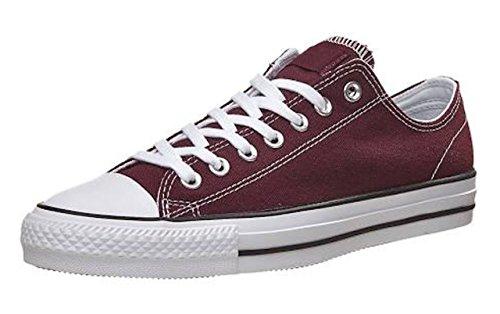 Aro402 Men Shoes Low Cut Sneakers Canvas (7, Burgandy)