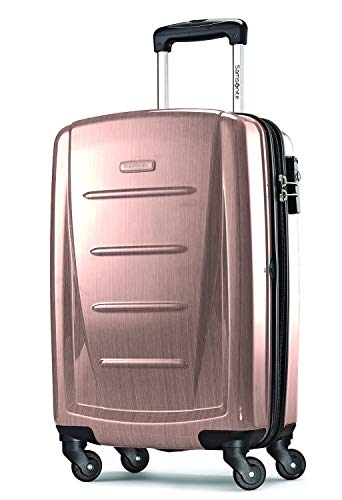 Samsonite Winfield 2 Hardside Expandable Luggage with Spinner Wheels, Artic Pink, Carry-On 20-Inch