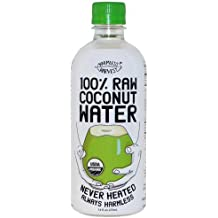 HarmlessHarvest Organic 100percentRaw Coconut Water, 16- Ounce (Pack of 4)