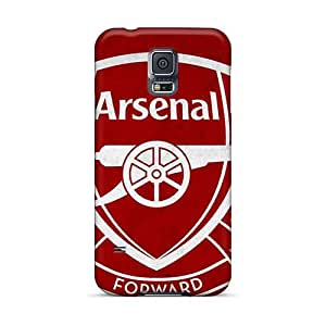 Durable Hard Cell-phone Cases For Samsung Galaxy S5 With Custom Colorful Arsenal Pictures AlissaDubois