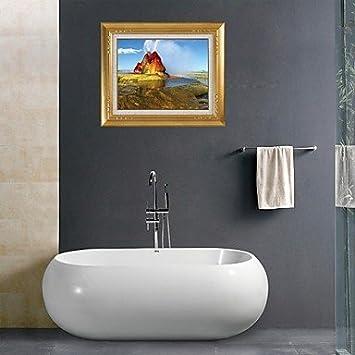 Badezimmer 3D | Ym Bad 3d Wand Sticker Wand Aufkleber Bewasserung Badezimmer Decor