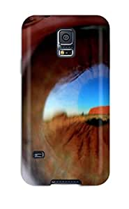 Brand New S5 Defender Case For Galaxy (brown Eye)