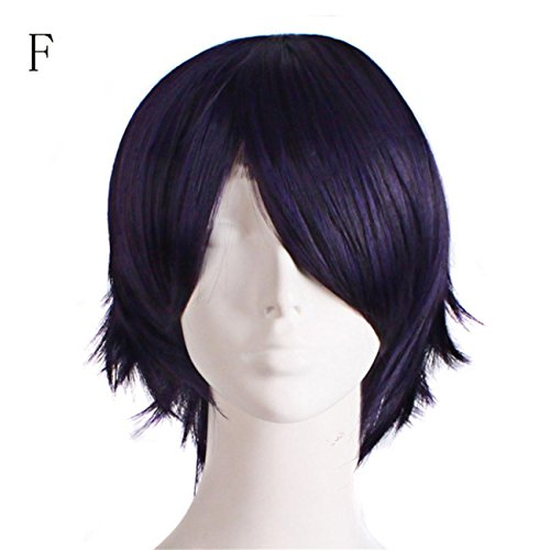 Touch Of Romance Halloween Costumes (Graduated Color Cosplay Wig Start Life In Another World Costume Play Halloween (F))