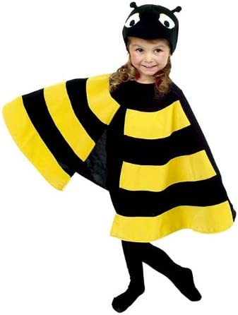 Hilka Cesar D403 - Disfraz de abeja para niña (talla 104): Amazon ...