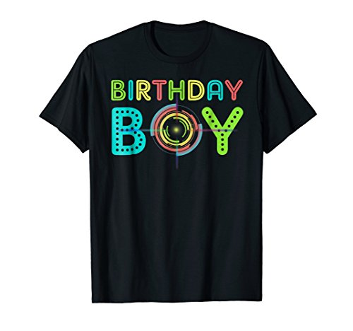 Laser Tag Birthday Shirt Gift For Cool Kid, Cool Dad