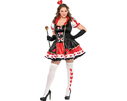 AMSCAN Charmed Queen Halloween Costume for Women, Plus