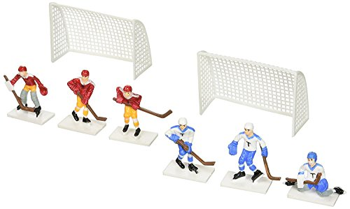 Oasis Supply 6-Piece Hockey Cake Decorating -