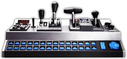 Amazon com: RailDriver USB Desktop Train Cab Controller: PC