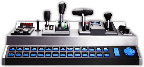RailDriver USB Desktop Train Cab Controller