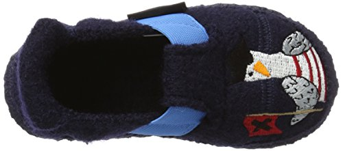 Nanga Jungen Walrus Hausschuhe Blau (Dunkelblau)