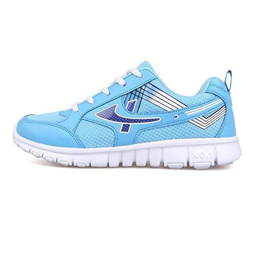 Outdoor Ammortizzante Sportive Scarpe Sneaker Traspiranti Casual Lace Leggero Passeggio Ysfu Sneakers Da Donna up 4YnFqg