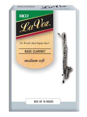 Rico Clarinet Reeds Medium Soft 10 pack product image