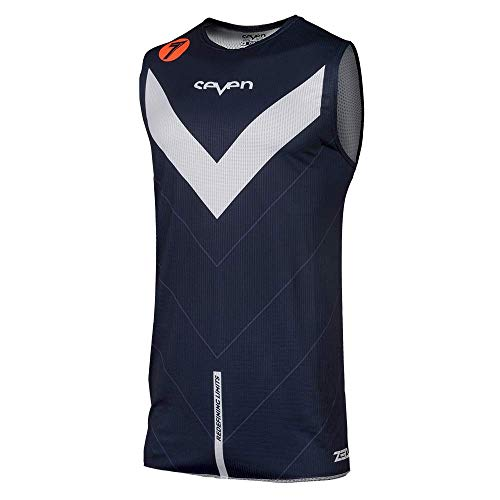 (Seven Zero Victory Over Youth Off-Road Motorcycle Jersey - Navy/Medium)