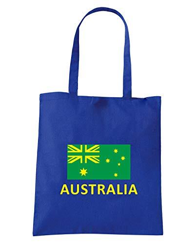 Borsa Shopper Royal Blu WC0030 AUSTRALIA
