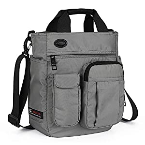 Crossbody Messenger Bag, Multi-functional Shoulder Bag, Laptop Bag for for Men and Women College School Business Sport…