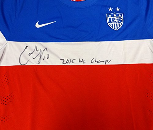 Carli Lloyd Autographed Team USA Nike Jersey