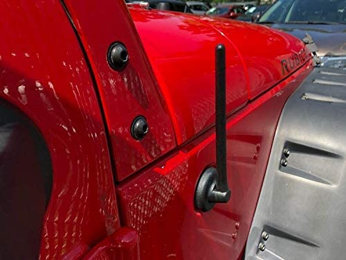 FITS Jeep JK Wrangler 2007 08 09 10 11 12 13 14 15 16 17 2018 New Trunknets Inc 6 3//4 Antenna MAST