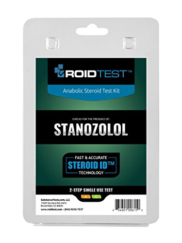 Stanozolol 2-Step Test by ROIDTEST (Anabolic Kit)