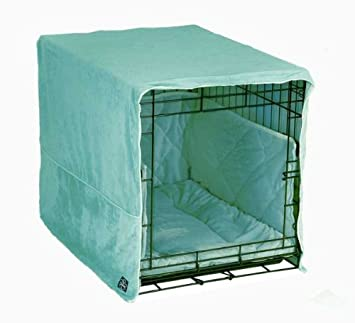 amazon com complete 3 pc dog crate bedding set includes crate pad
