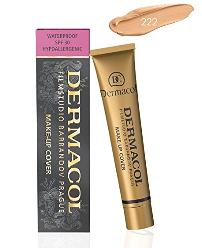 Dermacol Make-up Cover – Waterproof Hypoallergenic Foundation 30 gram Shade No. 222