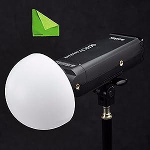 Godox AD-S17 Dome Diffuser Wide Angle Soft Focus Shade Diffuser (Black)