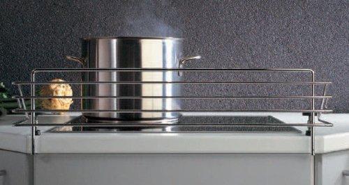 SO-TECH® Rejilla Protectora para Placa de Cocina Pinza de Bloqueo Infantil Barrera de Seguridad para Estufa para 60cm Encimera Largo: 678 mm / Alto: 140 mm / Profundidad: 175 mm SOTECH Z-0-60