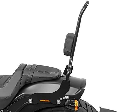 Craftride Sissy bar CSXL for Harley-Davidson Softail Fat Bob 114 18-20 black