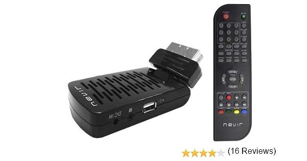 Nevir NVR-2565 DSUG - Sintonizador TDT, USB 2.0, control parental ...