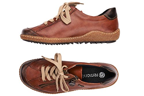 Remonte Casual Up Womens R4703 Shoes Lace Marrón Uwqp6Cwrn