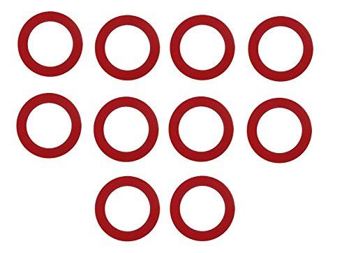 TRONSTORE 10-Pack Premium Toilet Flush Valve Replacement Seal - Fits 210 And 211 Flush Valves ()