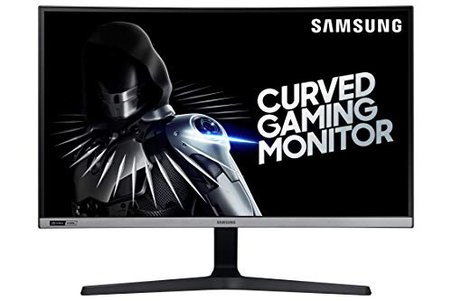 Samsung 27 inch (68.6 cm) 240 Hz, G-Sync Compatible, Bezel Less Curved Gaming Monitor (Dark Blue Gray) (2020 Model) – Computer Monitor, 1920 x 1080p Resolution, HDMI – LC27RG50FQWXXL