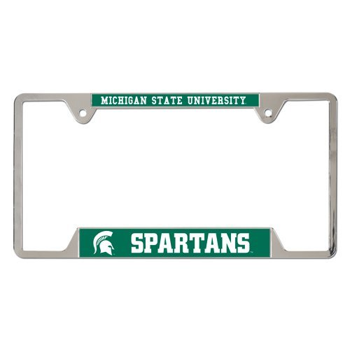 NCAA Michigan State University Metal License Plate Frame by WinCraft