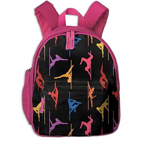 Stylish Children's School Backpacks Dance Adjustable Shoulder Straps Elementary Daypack For School/Hiking/Shopping/Climbing/Yoga/Beach]()