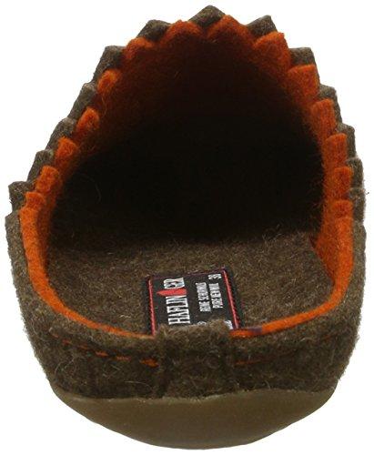 Everest Pantofole 552 Donna Haflinger Schoko Marrone Lotta dgxqd4wv