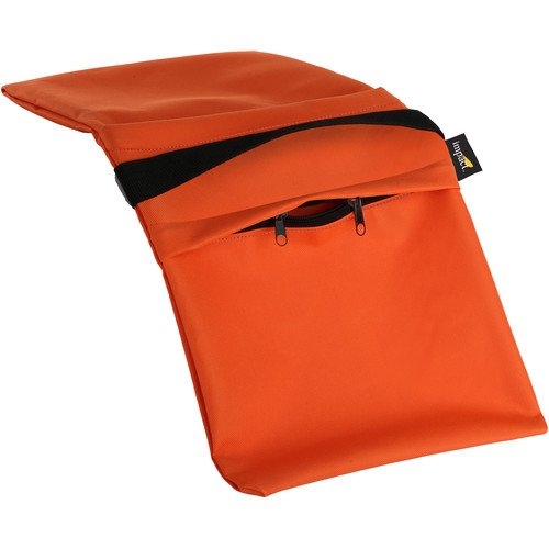 Impact Empty Saddle Sandbag - 27 lb (Orange Cordura)(6 Pack) by Impact