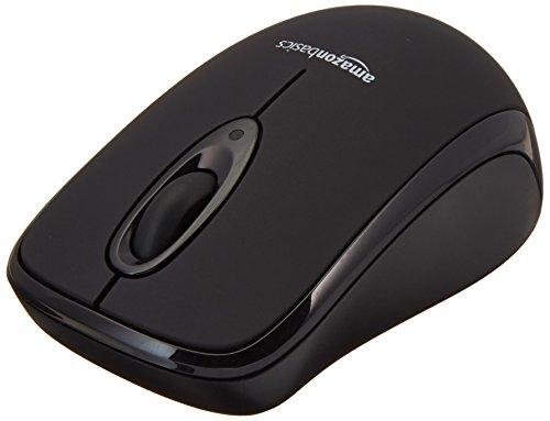 AmazonBasics Wireless Mouse with Nano Receiver