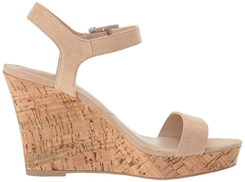 Charles By Charles David Mujeres Lindy Wedge Sandal Desnuda