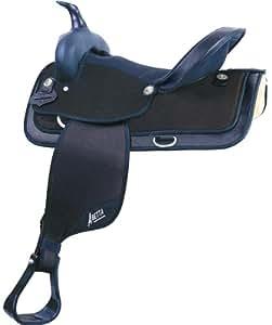 Abetta Hi-Back Saddle 15XW BLK