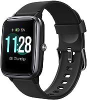 Letsfit Smartwatch, 1.3 Zoll Touchscreen Fitness Armbanduhr, Fitness Tracker mit Pulsuhr, IP68 Wasserdicht Sportuhr mit...