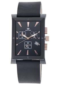 Danish Designs Men's IQ17Q755 Stainless Steel Black Ion Plated Watch