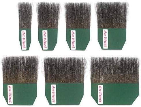 500-25 da Vinci Series 500 Gilder Tip Russian Blue Squirrel Hair Single Thickness Paintbrush Size 25mm