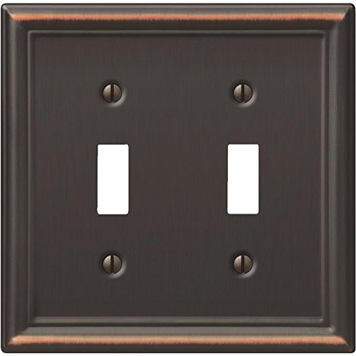 Creative Accents Wall Plate Antique Bronze Chelsea 2 Toggle Carded Creative Accents Wall Plate