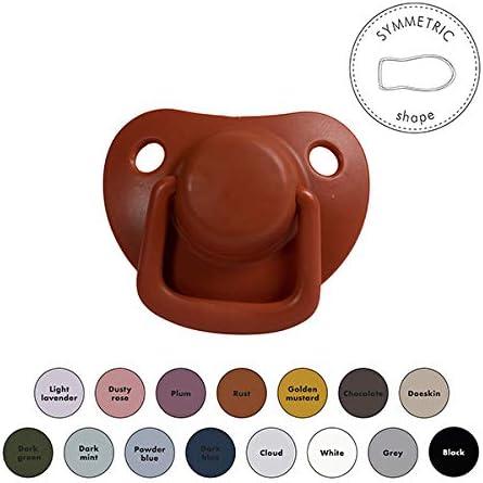 Couleurs mates Forme sym/étrique Design danois Lot de 2 Filibabba/® Lot de 2 t/étines en silicone