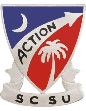 - South Carolina State University Unit Crest (Action SCSU)