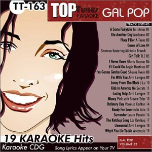 163 Plum - Top Tunes Karaoke CDG Gal Pop Volume 32 TT-163